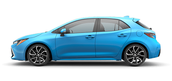 2019 Corolla Hatchback XSE with options