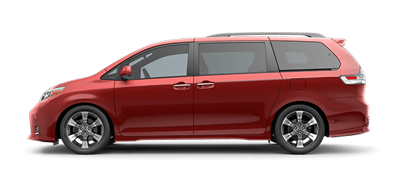 2020 Sienna Limited with options