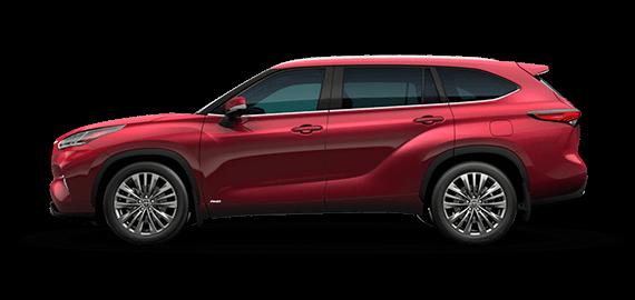 The 2022 Toyota Highlander Híbrida